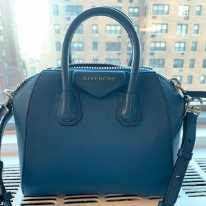 Givenchy Antigone Mini leather tote bag